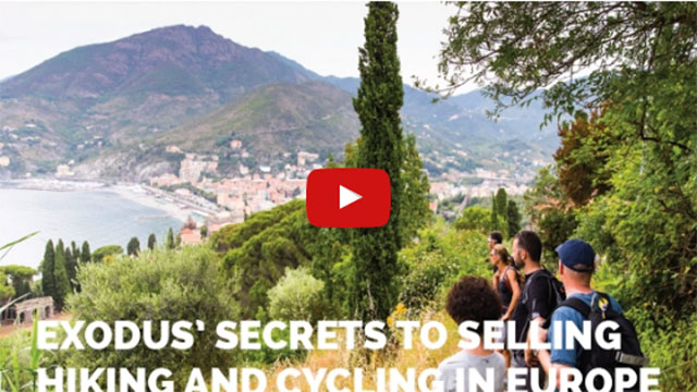 Exodus' Secrets To Selling Hiking And Cycling In Europe