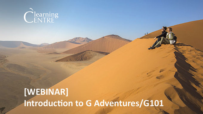 Introduction To G Adventures/G101