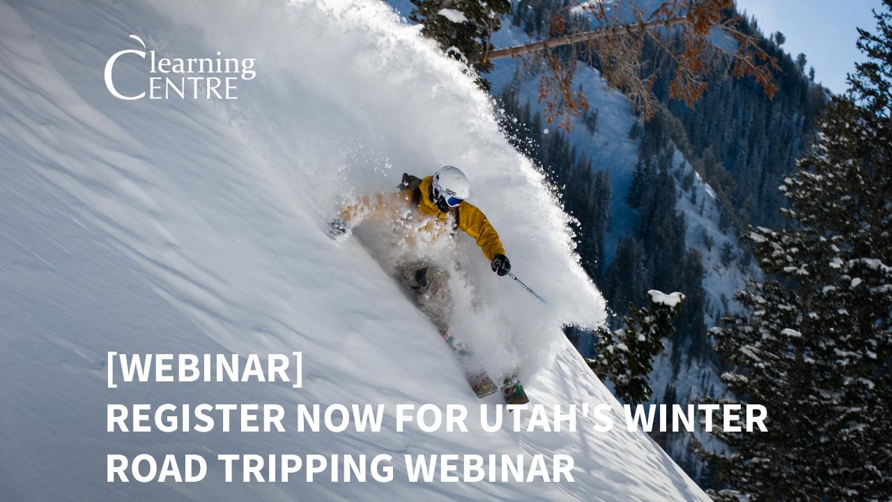 Utah's Winter Road Tripping Webinar