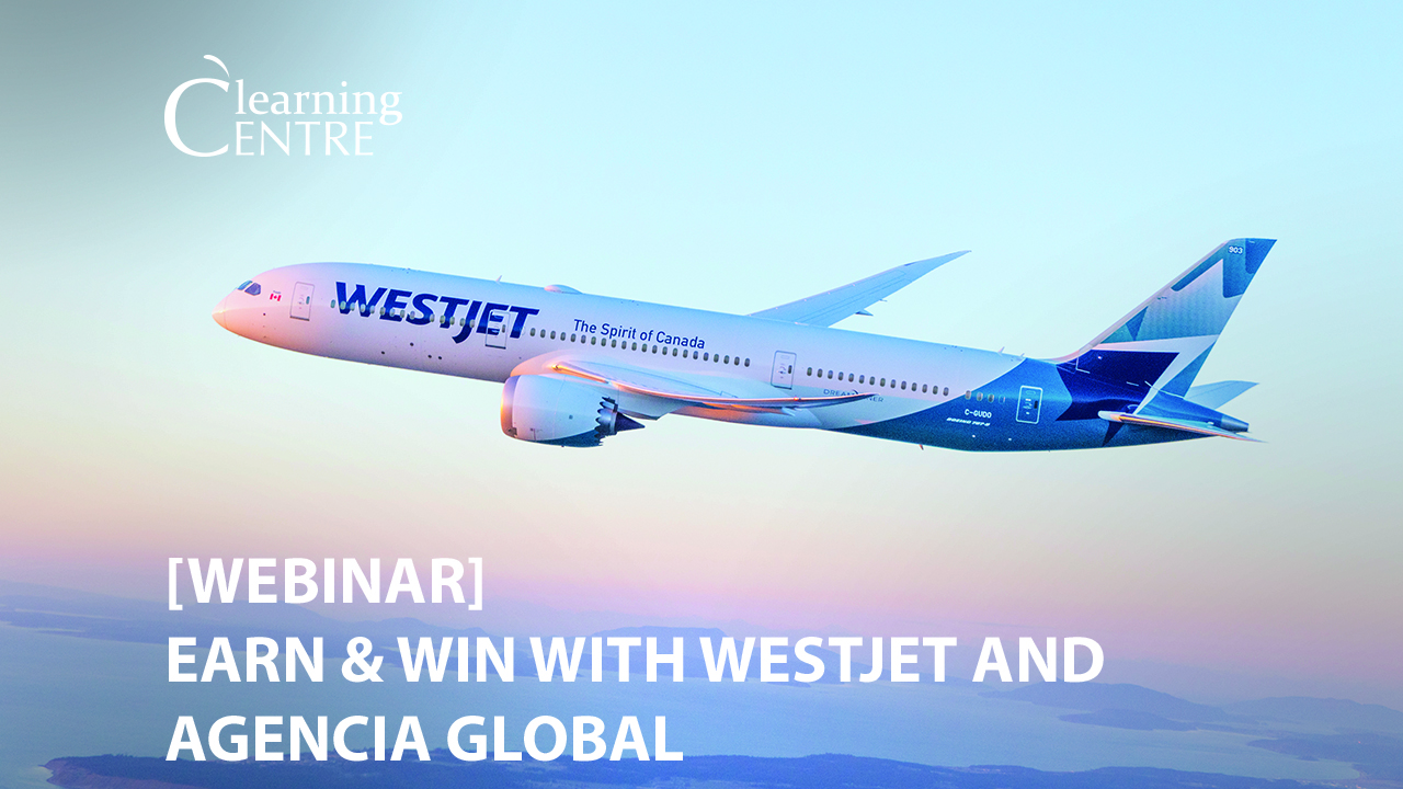 Earn & Win With Westjet And Agencia Global