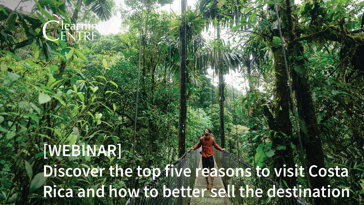 Discover The Top Five Reasons To Visit Costa Rica And How To Better Sell The Destination