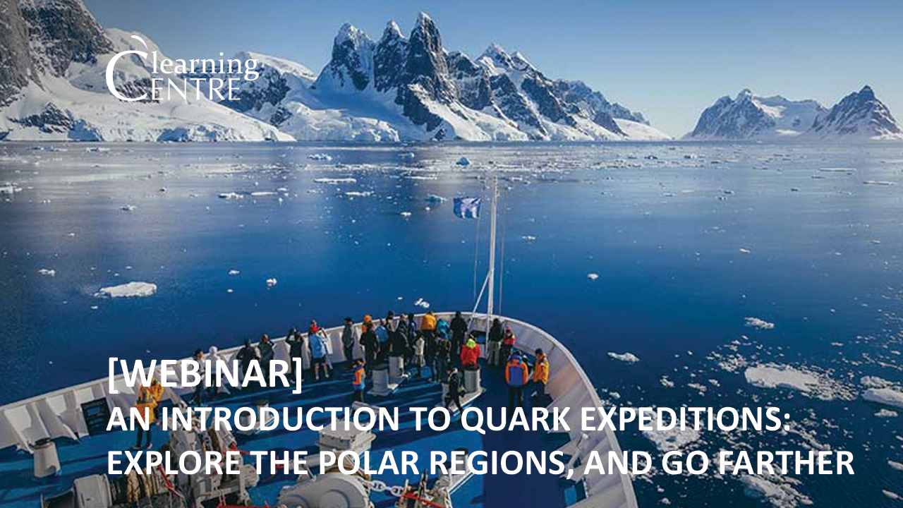 Introduction To Quark Expeditions: Explore The Polar Regions, And Go Farther!